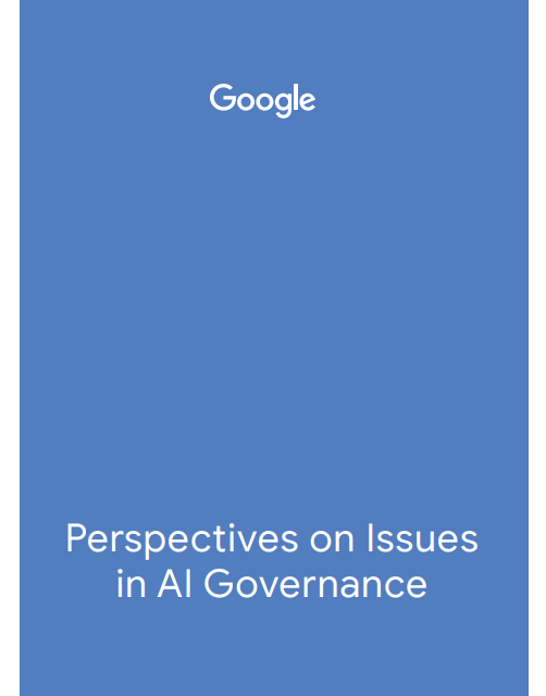 Perspectives on Issues in AI Governance – Google