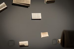 Composition Poland Kielce Zeromski Book Exposition